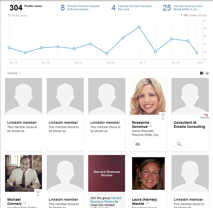 how to see who viewed your linkedin profile