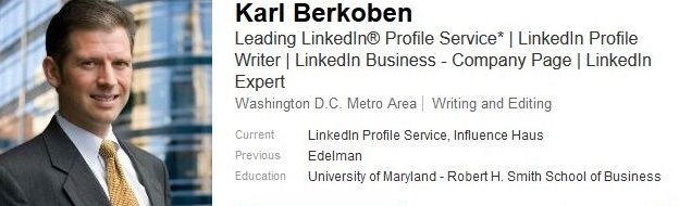 Professional Linkedin Profile Examples