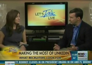Linkedin profile expert offers Linkedin Tips on ABC TV