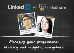 Linkedin Slideshare image acquisition merger