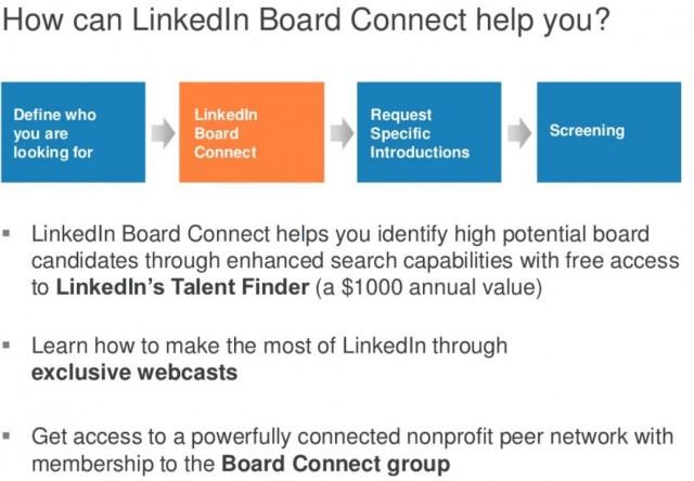 Linkedin Board Connect