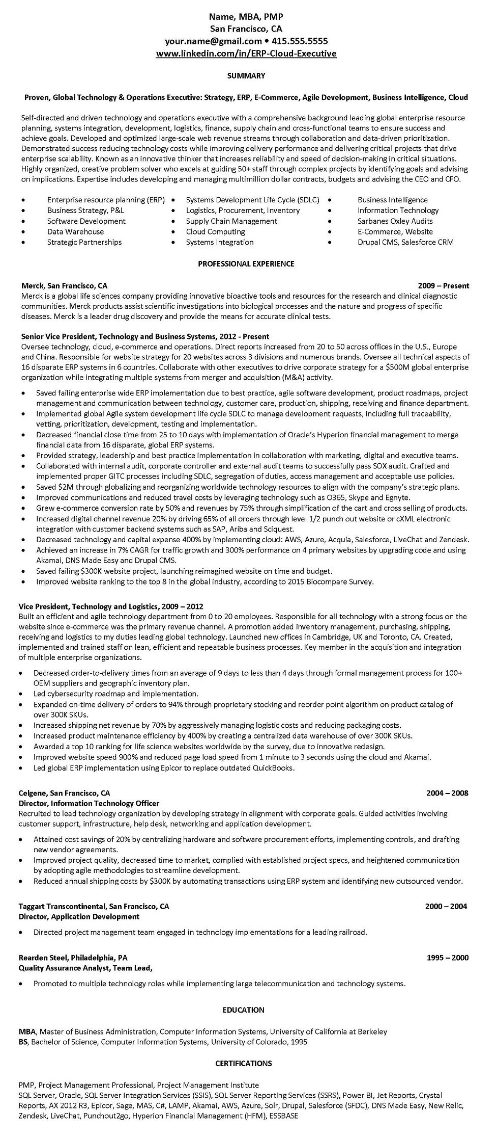 Software engineer resume writing service