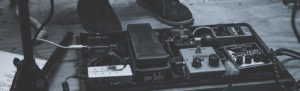 music wah-wah pedals Linkedin background image