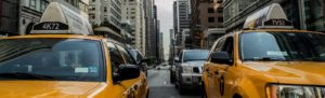 taxi new york Linkedin background image