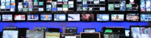 video television screens Linkedin background image
