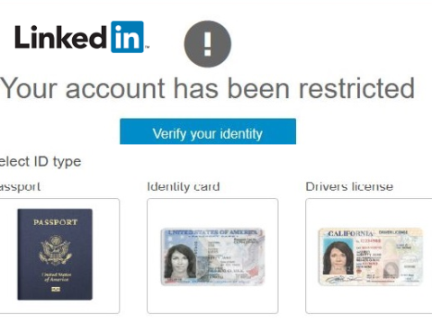 linkedin restricted access to account1