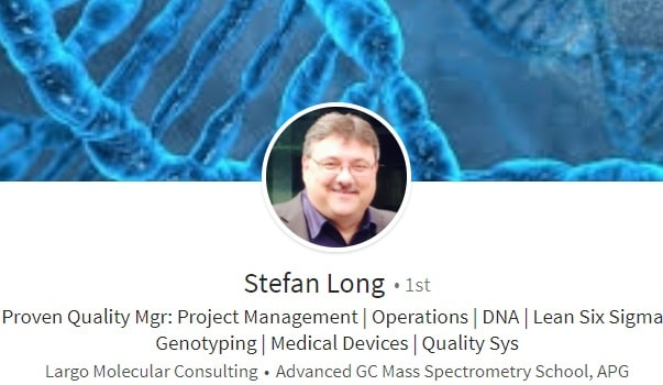 Sample Linkedin profile summary example genotyping dna