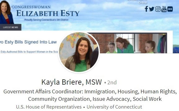 LinkedIn example - college student, early career