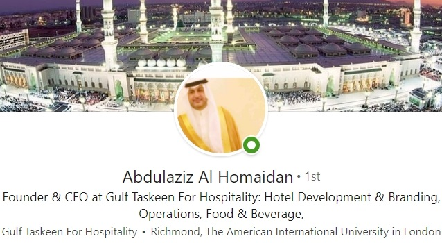 linkedin profile headline example Saudi Arabia