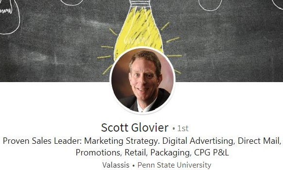 linkedin profile summary example cpg marketing