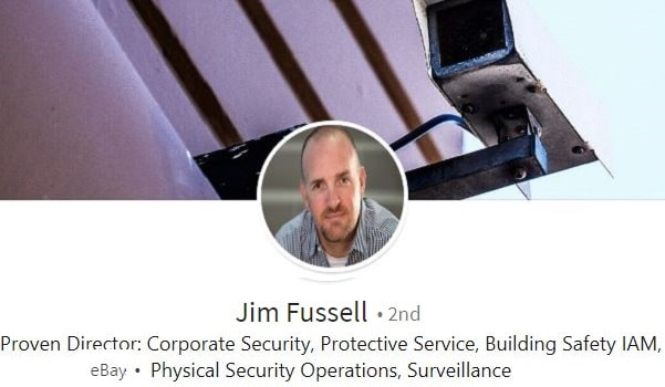 sample linkedin profile example corporate security