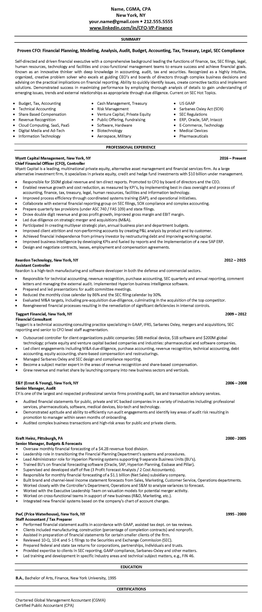 new york city u0026 39 s professional linkedin profile  u0026 resume