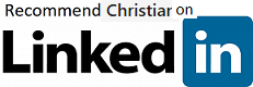 recommend Christian on LinkedIn 231x80