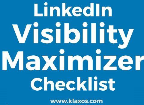 LinkedIn Infographic Visibility Checklist 2018 542x351
