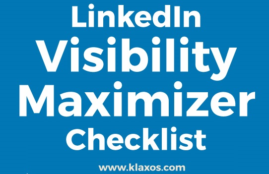 LinkedIn Visibility Checklist Infographic