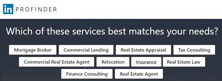 linkedin profinder mortgage banker