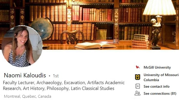 Sample Linkedin-profile-summary-example academic Faculty Research