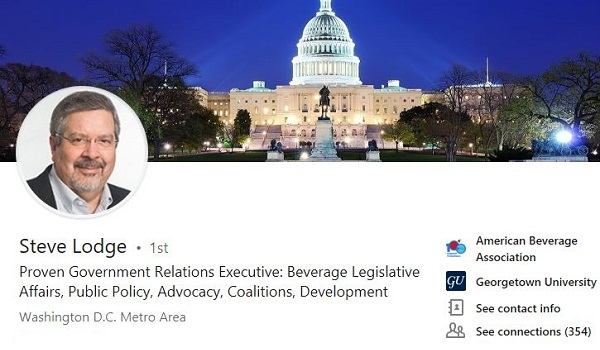 LinkedIn headline government relations lobbyist