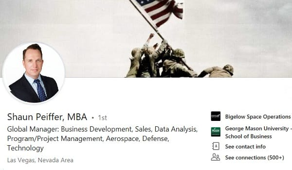 sample linkedin profile summary example military-civilian transition
