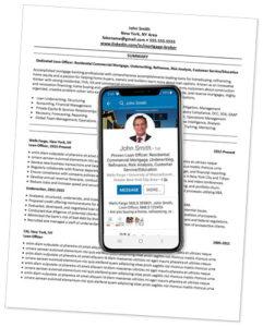 Phone on Resume