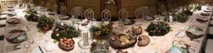 linkedin background image Culinary Dining Table 1584x396