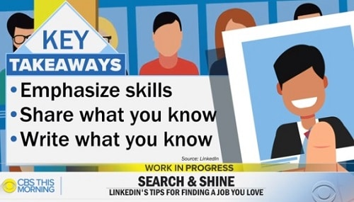 Linkedin Tips Emphasize Skills Share Write Expertise