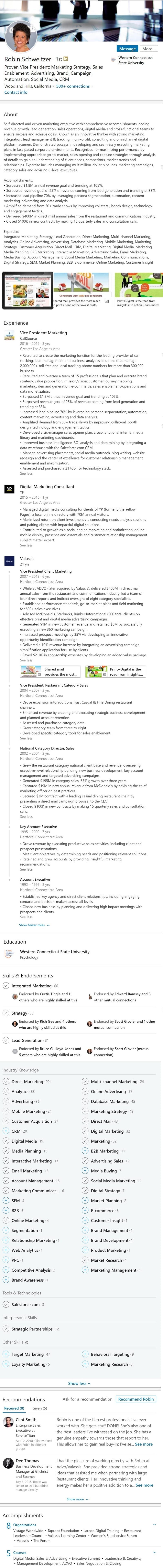 Marketing Strategy Linkedin Profile Example  1573