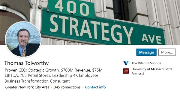 Sample Linkedin Profile Summary Example Ceo President 1364 600x350