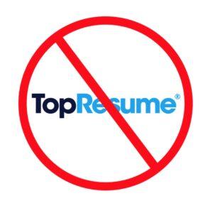 TopResume Resume Writing Reviews Scam Ripoff Logo
