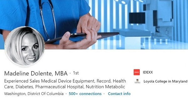Sample Linkedin Profile Summary Medical Device Sales 1477 600x350