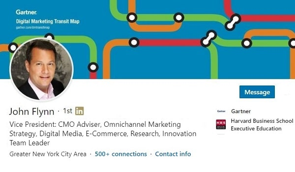 Sample Linkedin Profile Summary Social Selling Marketing Consulting 1012 600x350