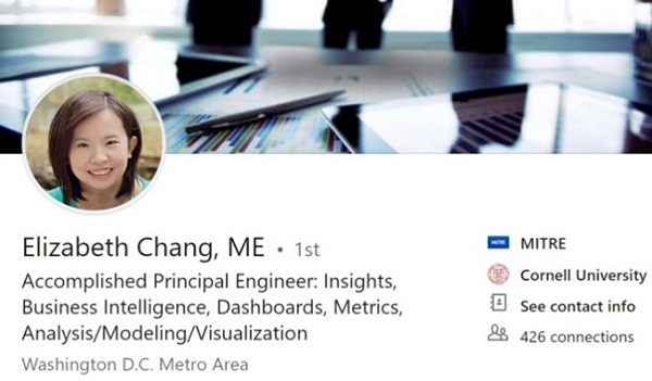 Sample Linkedin Profile Summary Example Business Intelligence Data Mining Analyst 2247 600x350