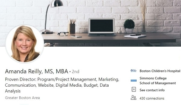 Sample Linkedin Profile Summary Example Health Care Project Management 2114 600x350