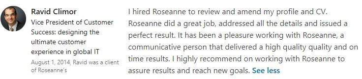 Climor Recco Roseanne