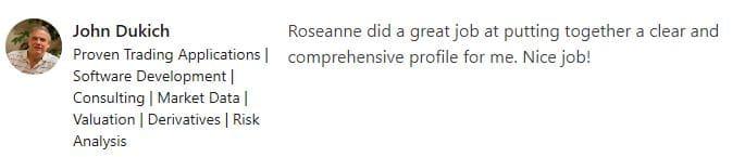 Dukich Recco Roseanne