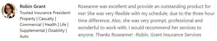 Grant Recco Roseanne