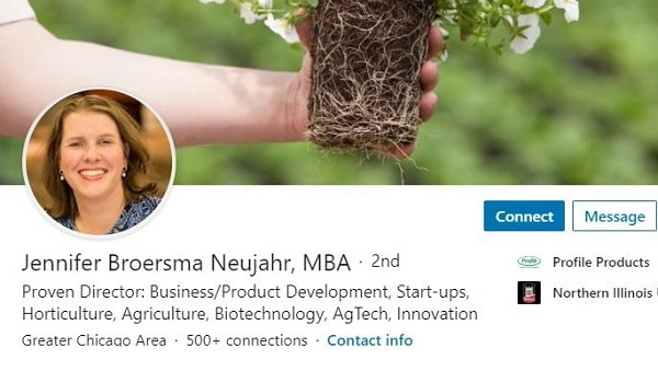Sample Linkedin Profile Summary Example Agriculture Agtech Hortculture 1379 600x350