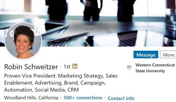 Sample Linkedin Profile Summary Example Brand Marketing Strategy 1573 600x350