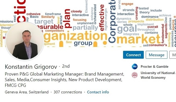 Sample Linkedin Profile Summary Example Brand Product Marketing 1280 600x350