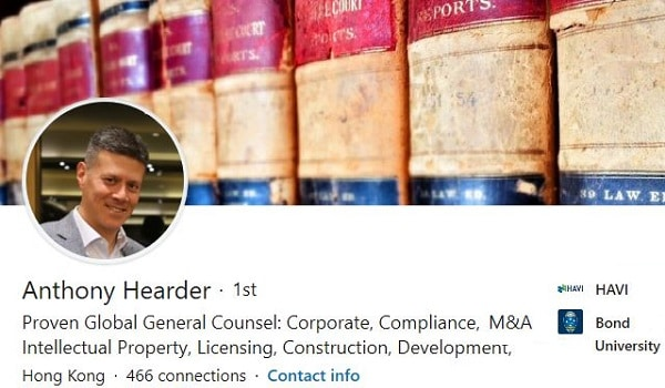 Sample Linkedin Profile Summary Example Legal Law General Counsel 2051 600x350