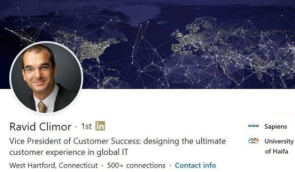 Sample Linkedin Profile Summary Example Vp Global Technology 1122 600x350