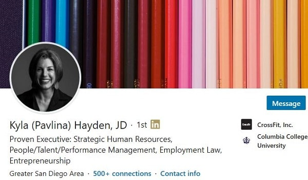 Sample Linkedin Profile Summary Example Human Resources 2448 600x350