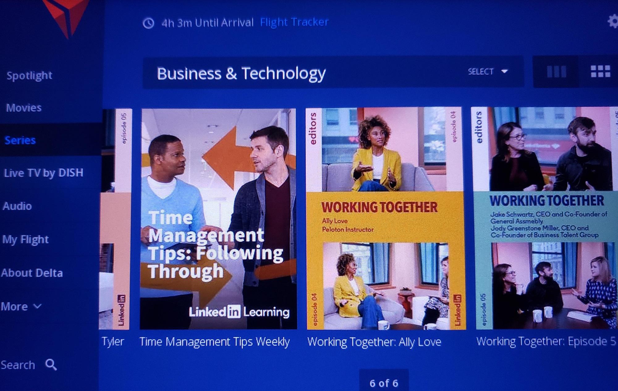 delta airlines linkedin learning