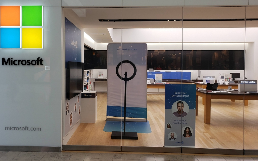 Get a Free LinkedIn Profile Headshot Photo at the Microsoft Store