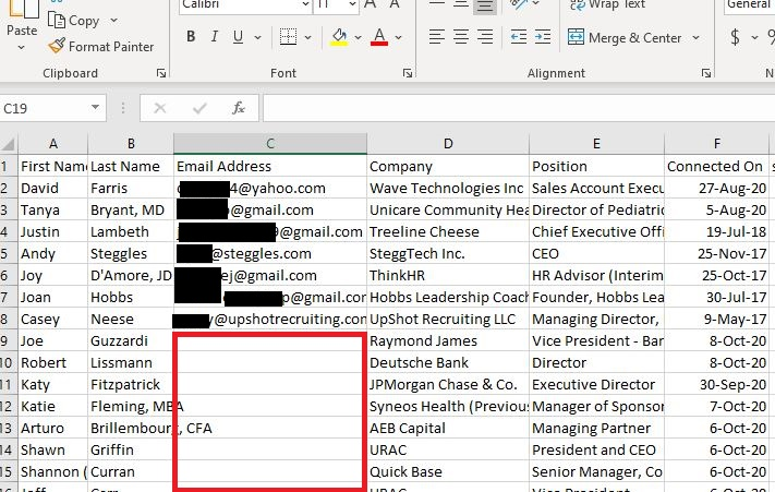 Linkedin Profile Export Connections List Excel Crm