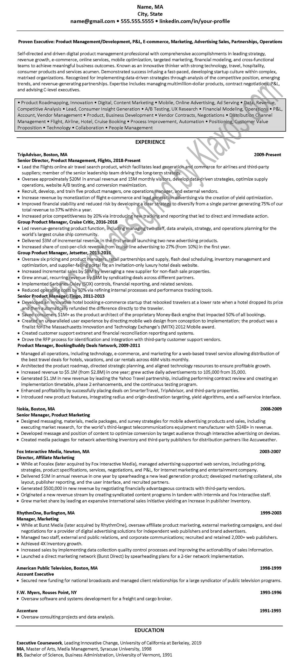 Resume 2932