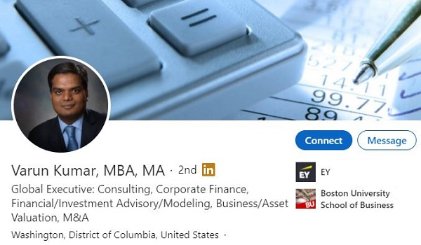 Linkedin Profile Example Big 4 Consultant Consulting 2278