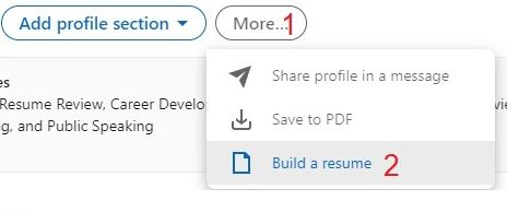How to Upload Your Resume/CV to LinkedIn Profile