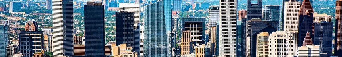 Houston Tx Skyline 1200x200