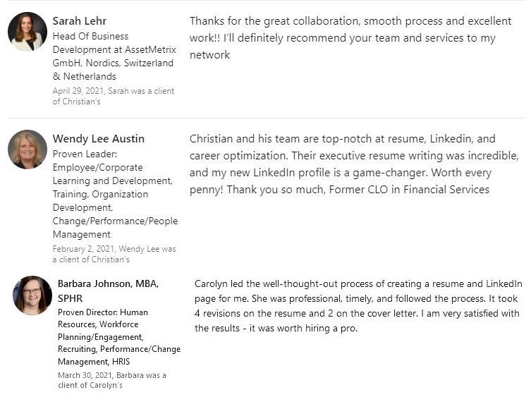 Lehr Austin Johnson Linkedin Reviews